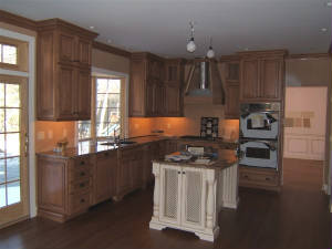 Residential projects for Mills pride kitchen cabinets